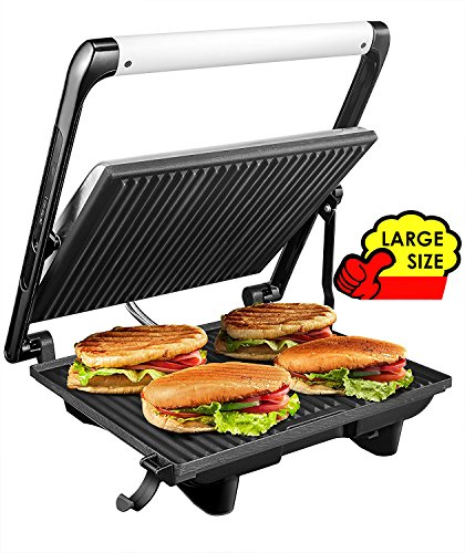 """Aicok Panini Press Grill Gourmet Sandwich Maker, 11.6"""" for sale  Delivered anywhere in USA"""