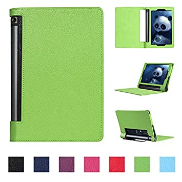 Asng Lenovo Yoga Tab 3 Plus/Yoga Tab 3 Pro 10 Case - Slim Folding Cover with Auto Wake/Sleep for Lenovo Yoga Tab 3 Plus YT3-X703F / Yoga Tab 3 Pro ...