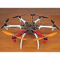 powerdayDIY Replacement F550 Hexacopter Kit Frame Kit&AAPM2.8 Flight controller & NEO-7M GPS & 2212 920KV Brushless motor& Simonk 30A ESC&1045 Propeller