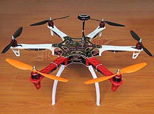 powerday DIY Replacement F550 Hexacopter Kit Frame Kit+AAPM2.8 Flight Controller +7M GPS+2212 920KV Brushless Motor+ Simonk 30A ESC+1045 Propeller