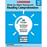 Week-by-Week Homework: Reading Comprehension Grade 2: 30 Passages • Text-based Questions • Meets Core Standards