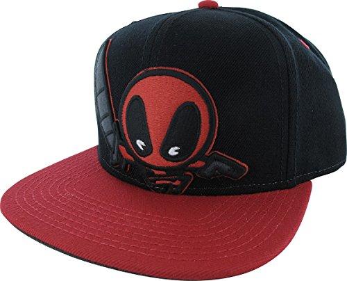 Mavel Kawaii - Deadpool Snapback Hat Size ONE SIZE -