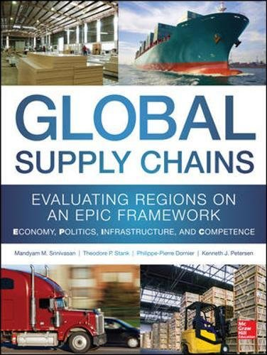 Global Supply Chains: Evaluating Regions on an EPIC Framework - Economy, Politics, Infrastructure, and Competence: