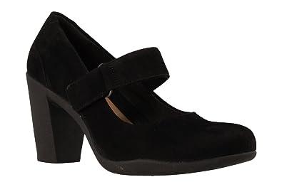Clarks Schuhe 26128433 Adya Clara Schwarz  Amazon     Schuhe ... c893d5
