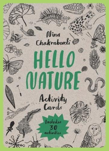 Hello Nature Activity Cards: 30 Activities by Laurence King Publishing