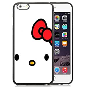 NEW Unique Custom Designed iPhone 6 Plus 5.5 Inch Phone Case With Hello Kitty Minimal_Black Phone Case