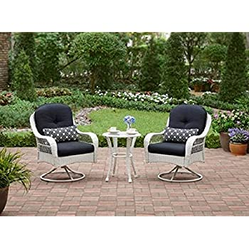 3 piece outdoor bistro set is perfect for small spaces like a balcony as well - Garden Furniture 3 Piece