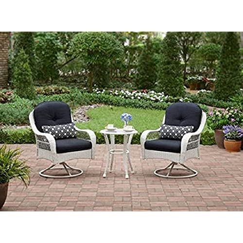 3 Piece Outdoor Bistro Set Is Perfect For Small Spaces Like A Balcony As  Well As Patio, Garden Or Deck Furniture.
