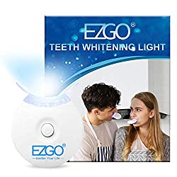 EZGO Teeth Whitening Accelerator LED Light 5X LED Light Whiten Teeth Faster, Works with Tooth Whitening Gel, Whitening Trays or White Strips