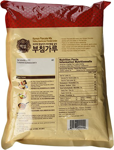 how to make korean pancake mix