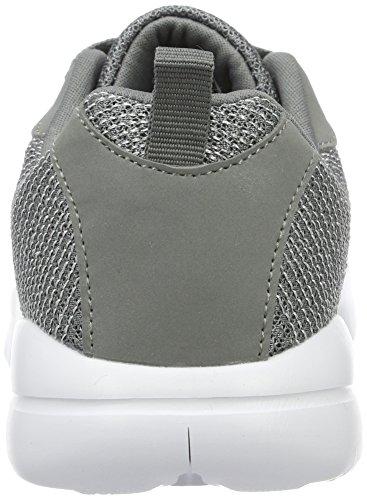 Zapatillas Kappa silver Para Gris 1615 Grey Loop Mujer gwqwOp5Bx