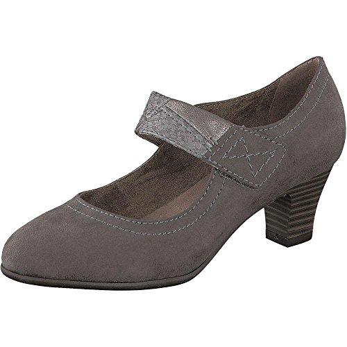 Softline 24463, Zapatos de Tacón para Mujer Gris (GRAPHITE 206)