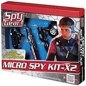 Spy Gear Micro Spy Kit X 2 Toys Games