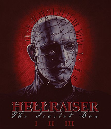 Hellraiser: The Scarlet Box Limited Edition Trilogy [Blu-ray] [Region A]