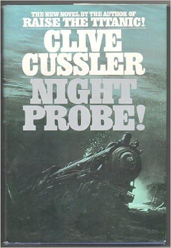 Image result for night probe cussler