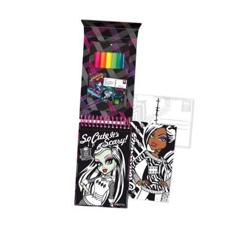 - Halsall Monster High Velvet Art Postcard Set