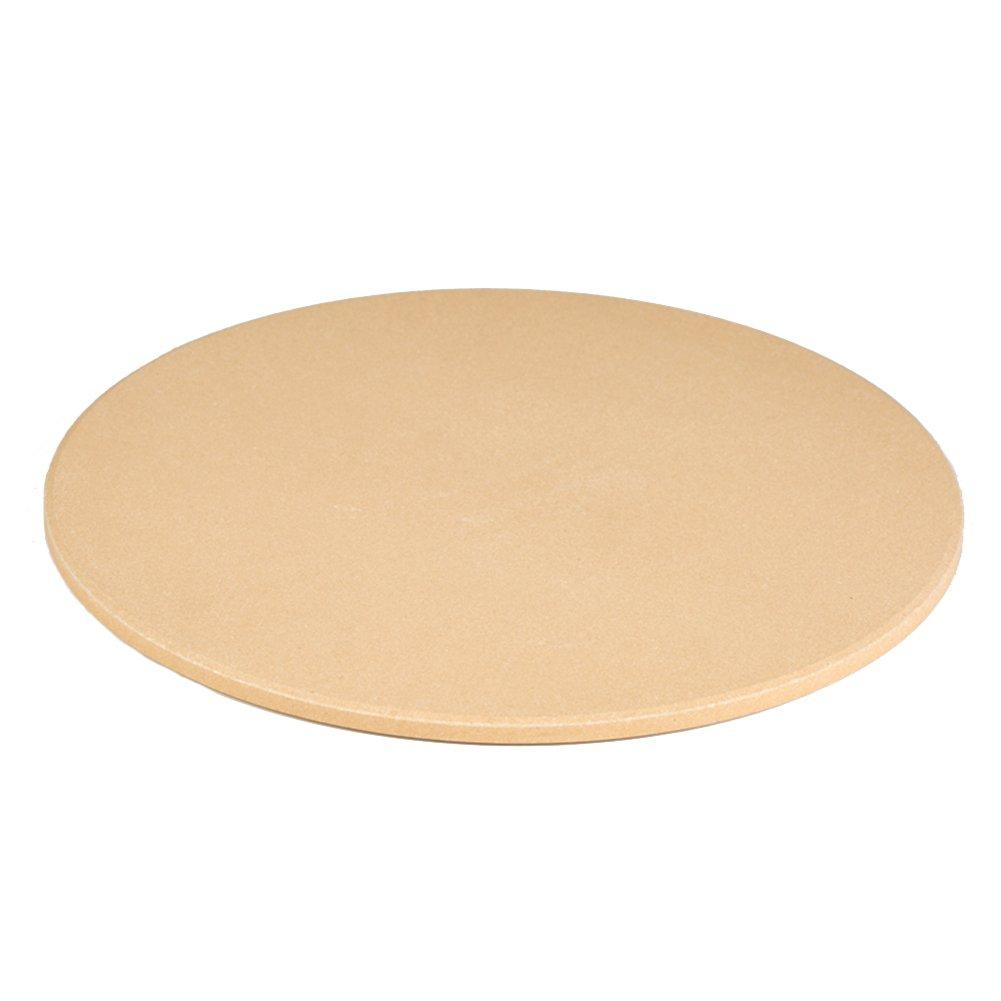 Piedra redonda de pizza de 30,48 cm para horno y barbacoa 12.6 Inch HomDSim