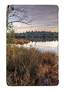 GYFExwB541krdsL Tough Ipad Mini/mini 2 Case Cover/ Case For Ipad Mini/mini 2(lakeside Grass) / New Year's Day's Gift