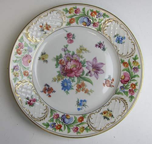 Schumann-Bavaria China DRESDENER ART Dinner Plate(s) D VERY GOOD