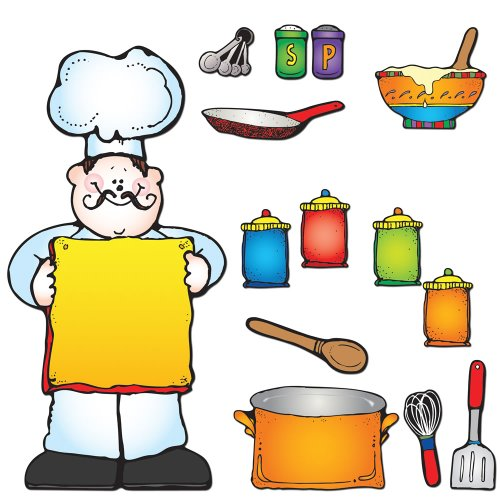 Carson Dellosa D.J. Inkers What's Cooking? Bulletin Board Set (610050)
