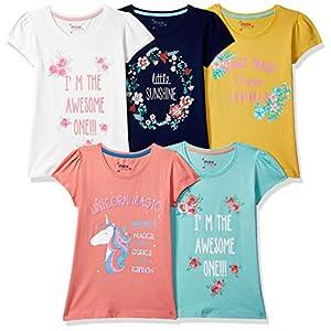 Max Girl's Regular fit T-Shirt...