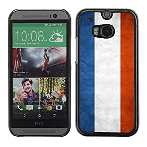 Shell-Star ( National Flag Series-Netherlands ) Snap On Hard Protective Case For All New HTC One (M8)