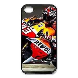 iPhone 4,4S Phone Cases Black Marc Marquez LSDE5501300