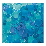 S&S Worldwide Sea Glass Bead Assortment, Ocean Wave