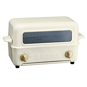 BRUNO Toaster Grill BOE033-WH (White)【Japan Domestic genuine products】