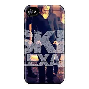 Apple Iphone 4/4s Nzx32352YNJp Customized High-definition Asking Alexandria Band Image Scratch Protection Hard Phone Covers -JamieBratt