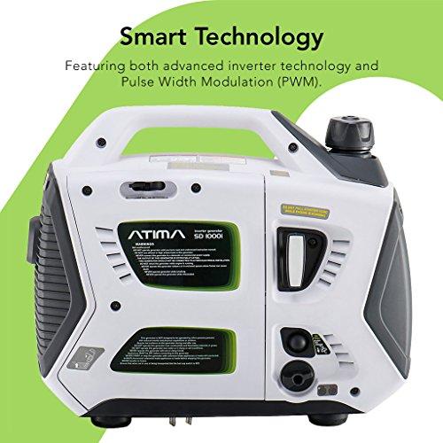 atima sd1000i 1000 watt small quiet portable inverter