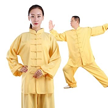 fwadu Tai Chi Uniforme Mujer Transpirable Estilo Chino Tai ...