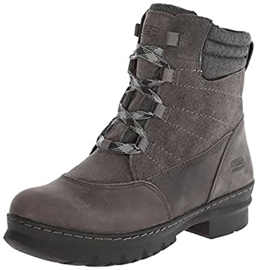 Amazon.com | KEEN Women's Wapato Mid WP Winter Boot | Snow