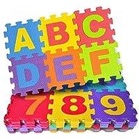 Little Star Kids 36 Pieces Alphabet Floor mats for Kids, Puzzle Foam Mat for Children Above 2 Years