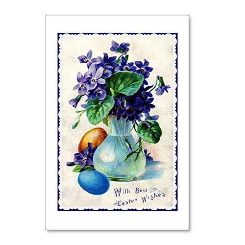 Easter Postcard (CafePress - Easter Violets Vintage - Postcards (Package of 8), 6