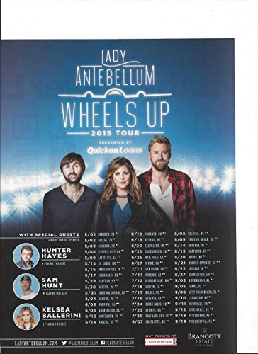 --PRINT AD-- With Lady Antebellum For 2015 Wheels