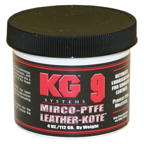 KG 9 Leather-Kote 4 oz by KG Products