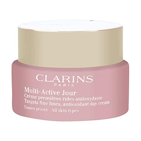 Clarins Multi Active Jour Day Cream All Skin Types – 1.6 Ounces