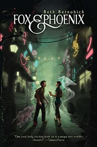 book cover of Fox and Phoenix