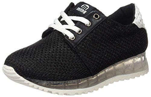 MTNG Women's Point Fitness Shoes Black (Metol Black / Prisma Blanco C32598) RinbmJ