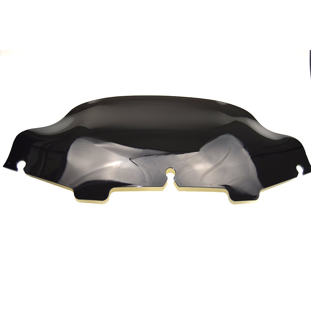 /2013 Slotted stock Batwing Trim 15,2/cm nero Windshields Fits Fits for Harley Touring Electra Glide 1996/