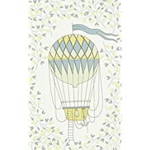 Lemon Hot Air Balloon & Basket - Lined Notebook with Margins - 5x8: 101 Pages, 5 x 8, College Ruled, Journal, Soft Cover