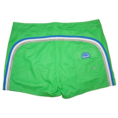 ef214e4ac8 Sundek Men's Swim Trunks, 14' Fixed Waistband Low Rise Board Shorts ...