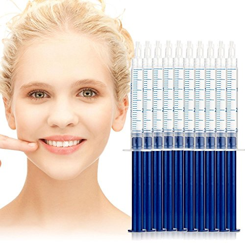 System Reflector Deep - Teeth Whitening Gel, 44% Peroxide Bleaching System Oral Gel Kit, Easy Using Tooth Whitener