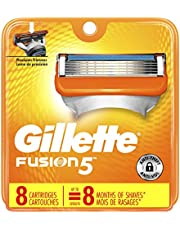 Gillette Fusion5 Men's Razor Blades - 8 Cartridge Refills (Packaging May Vary), Mens Razors/Blades