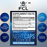 Night Caps - Highest Quality  Sleep Aid for Adults