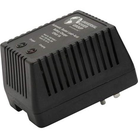 Amazon.com: UPG D1761 Sealed Lead Acid Cargador (12 V dual ...