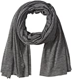 Clothing Accessories Best Deals - Alternative Clothing & Accessories Oversized Burnout Bundle Up Scarf One Size Ash Heather