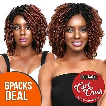 Amazon Com Multi Pack Deal Freekalon Synthetic Hair Crochet
