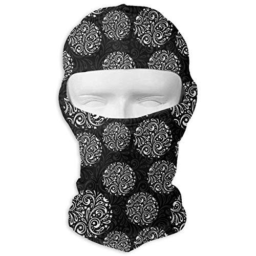 HANBINGPO Winter Snowflake Pattern Christmas Stars Men Women Balaclava Neck Hood Full Face Mask Hat Sunscreen Windproof Breathable